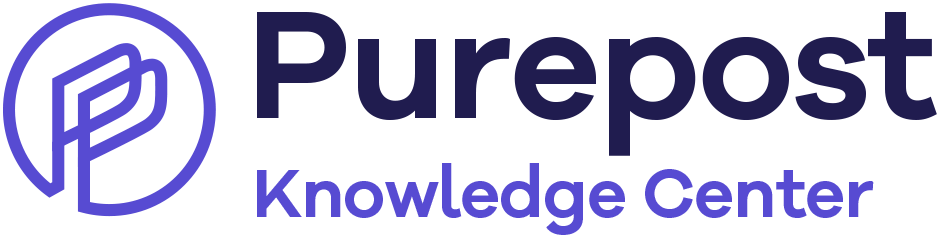 Purepost Knowledge Center