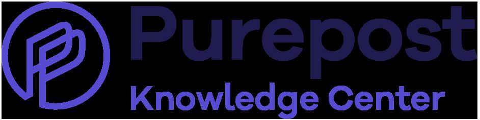 Purepost Knowledge Center